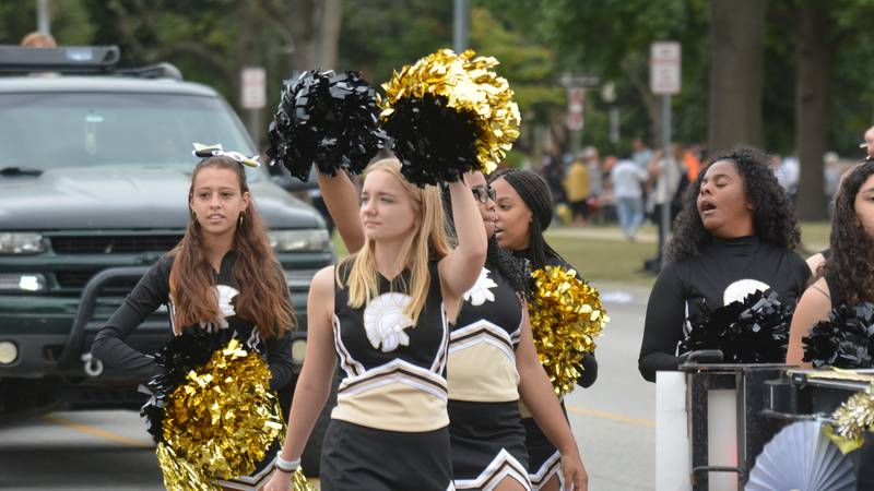 Topeka High School celebrated its homecoming and 150th anniversary with a parade Friday...