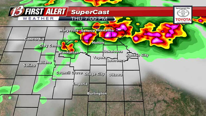 Severe Storms Expected