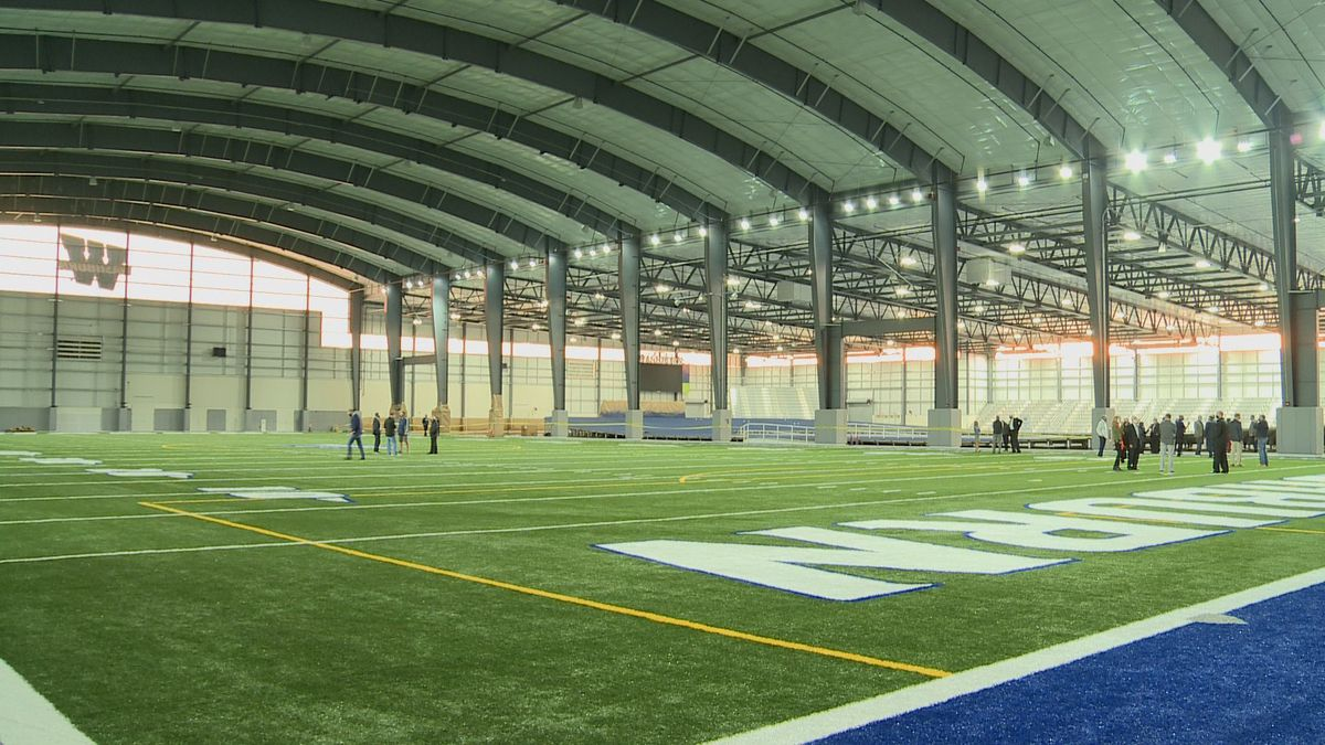 Washburn's $20.2 million Indoor Athletic Facility is officially open after more than a year and...