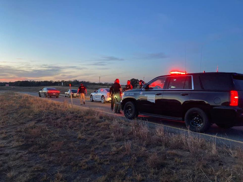 The suspect's vehicle was located by the Oklahoma Highway Patrol around mile marker 6 near...