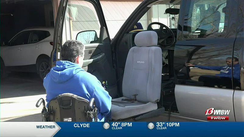 Topeka man makes a GoFundMe to buy another van