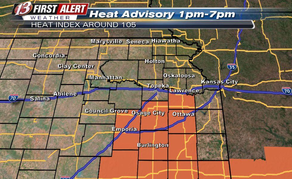 Heat Advisory July 1