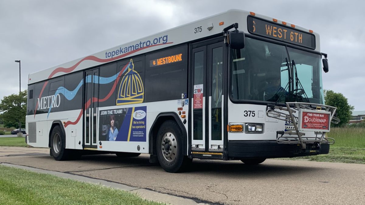Free Topeka Metro bus passes are available for students attending high schools and four middle schools in Topeka Unified School District 501, officials announced Wednesday.