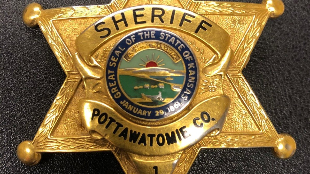 Pottawatomie County Sheriff's Office badge