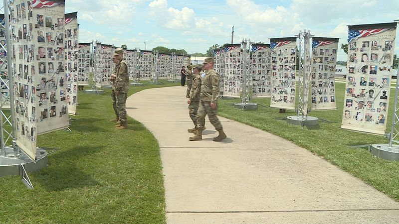 Museum of the Kansas National Guard Hosts Exhibit Remembering Our Fallen. (June 9, 2021)