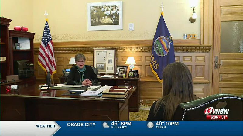 Gov. Laura Kelly (D- Kansas) sits down with 13 NEWS on Wednesday, March 31, 2021 to discuss her...