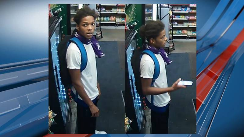 Topeka Police are looking for this man in connection to a Wednesday night shooting.