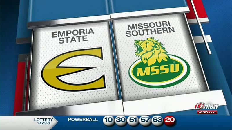 Emporia State beats Missouri Southern 24-21