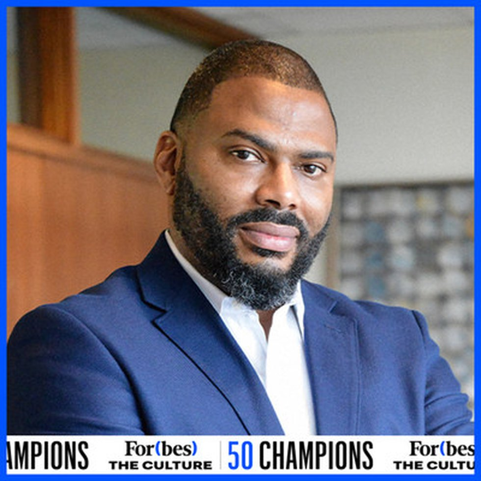 Steve Evans named to For(bes) The Culture 50 Champions list