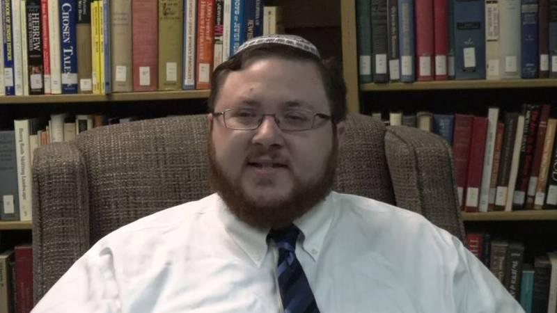 Rabbi Sam Stern is the new rabbi at Temple Beth Sholom, 4200 S.W. Munson in Topeka.