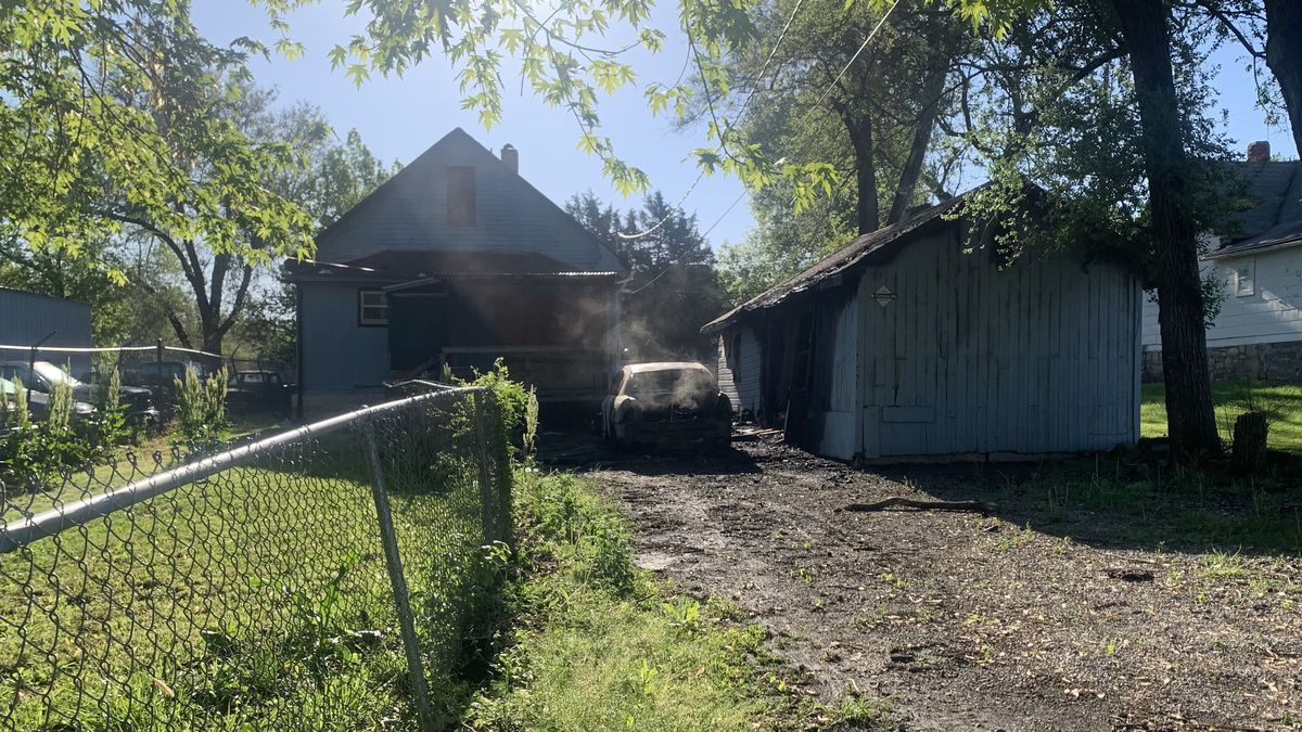 A fire that officials said was intentionally set caused an estimated $5,500 in damage late...