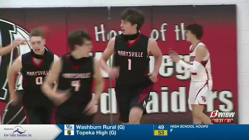 Play of the Night: Marysville steal and score