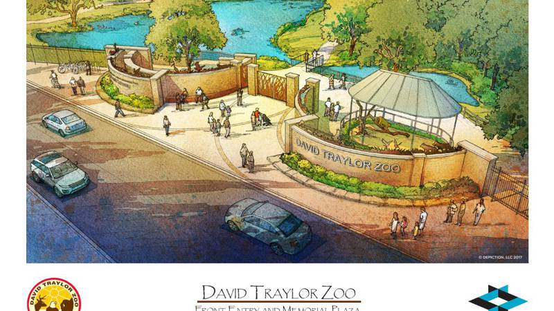 Emporia's David Traylor Zoo held a ribbon-cutting ceremony on Thursday to celebrate completing...