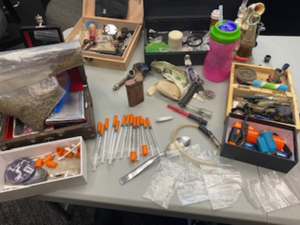 Brown Co. deputies find a large amount of narcotics and paraphernalia in a Hiawatha home during...