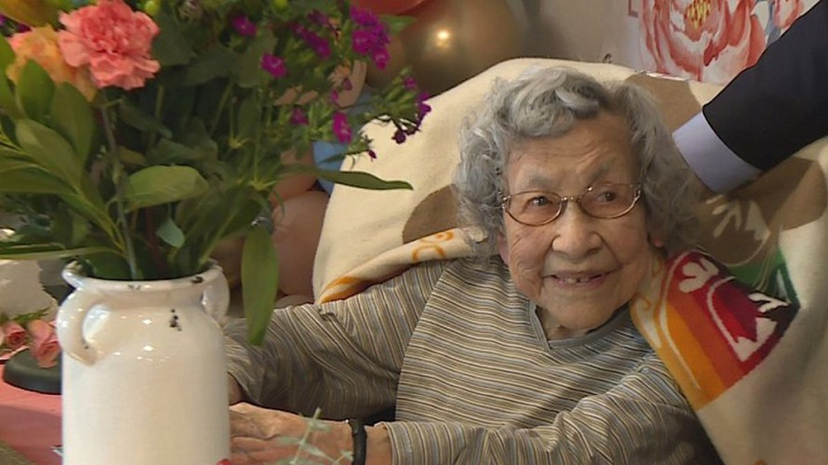 At 110, Julia Kabance is the oldest known Native American World War Two veteran.
