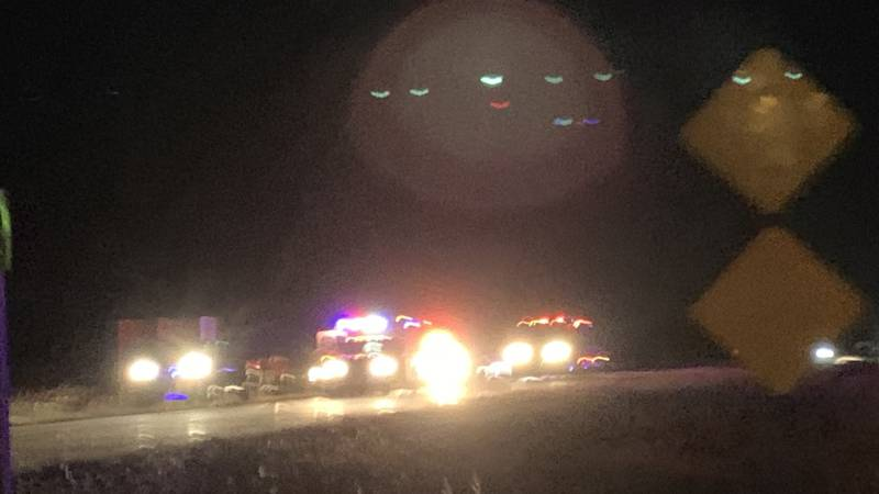 Jefferson Co. Dispatch told 13 NEWS minor injuries were reported after a two-car accident near...