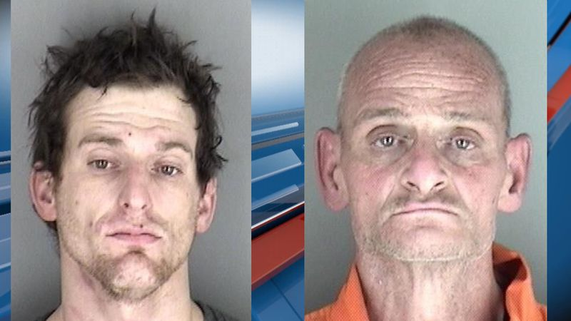 Two Topeka men are facing charges after fleeing from an attempted traffic stop.