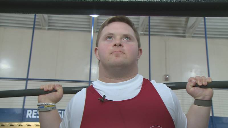 Luke Gerhardt, a Special Olympic athlete, will compete in the 2021 Sunflower State Games as a...