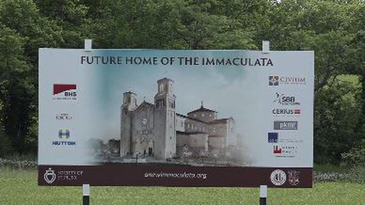 The Society of St. Pius X broke ground Sunday in St. Marys on its new $30 million Immaculata...