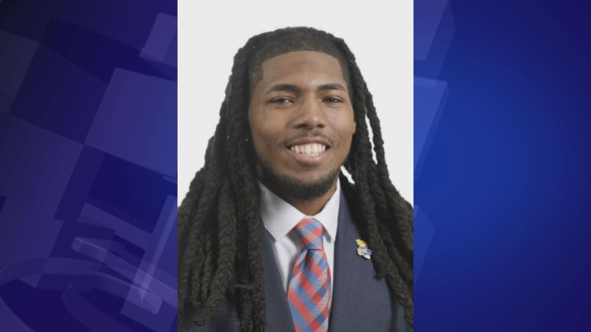 The Kansas City Star first reports that Kansas football player Corione Harris has been suspended indefinitely. This comes after Harris has been charged with multiple felonies.