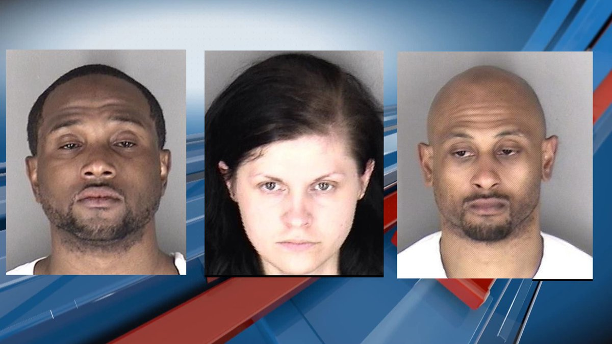 Three Topekans are in custody on felony warrants following an incident on Oakley Ave. Thursday...