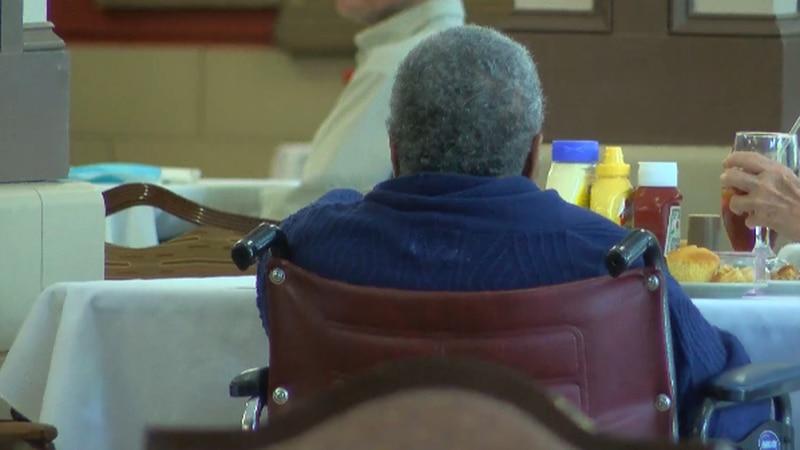 Nursing home residents (File).
