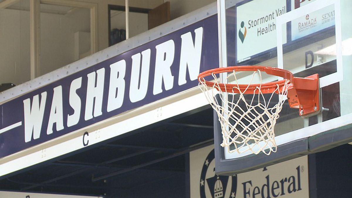 Washburn men's basketball held youth camps for children grades 2-8.