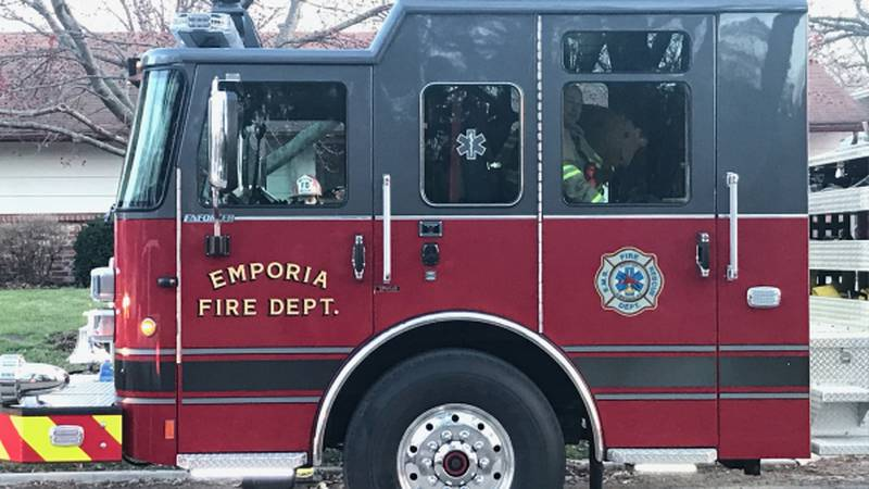 Emporia Fire Dept. apparatus (File, KVOE)