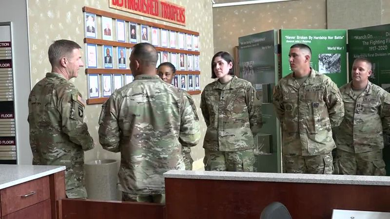 US Army Chief of Staff visits Fort Riley