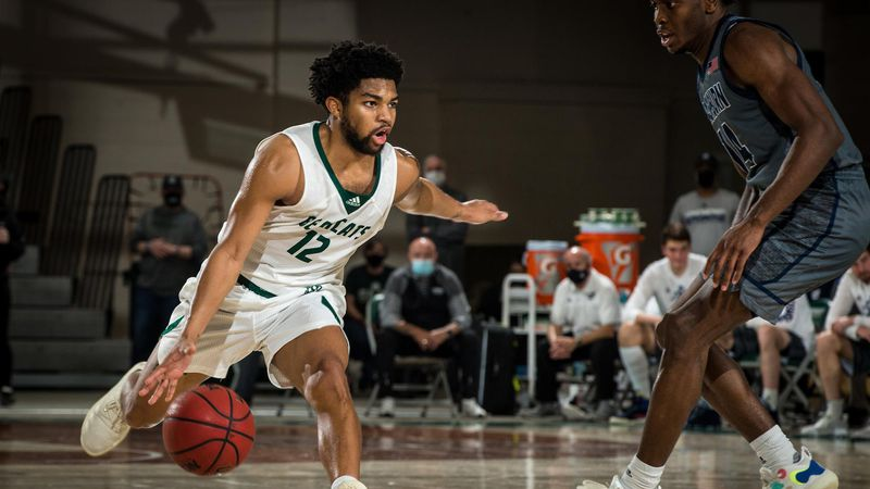 Manhattan's Trevor Hudgins named NABC Division II Player of the Year