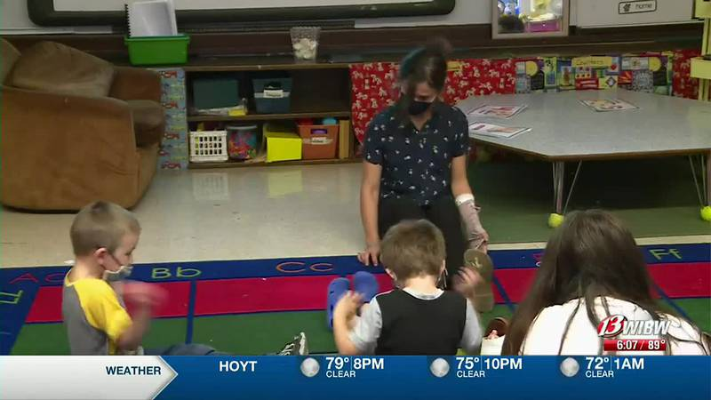 A Randolph Elementary School teacher is taking her passion for dance to the classroom