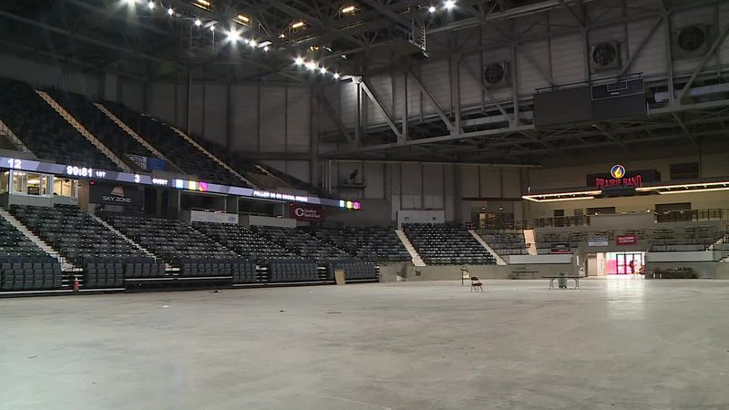 The facility is ready to start hosting events.