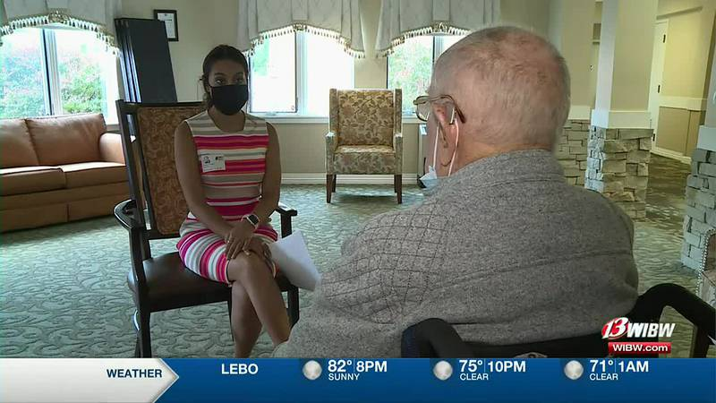 Topeka Army veteran reflects on his memories in World War ll