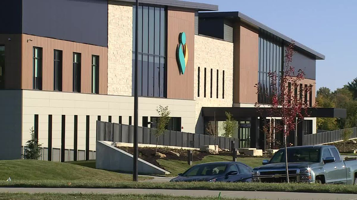 The new Stormont Vail Cotton O'Neil Clinic in southwest Topeka is ready for opening.