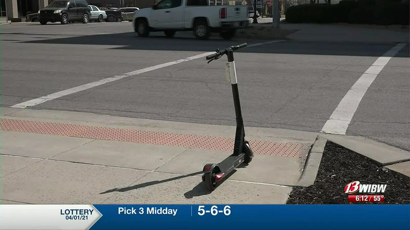 Bird Scooters in Topeka