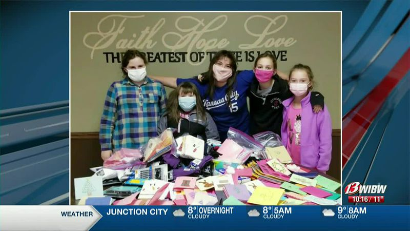 We're honoring some community project work from the girls of Troop 7635.