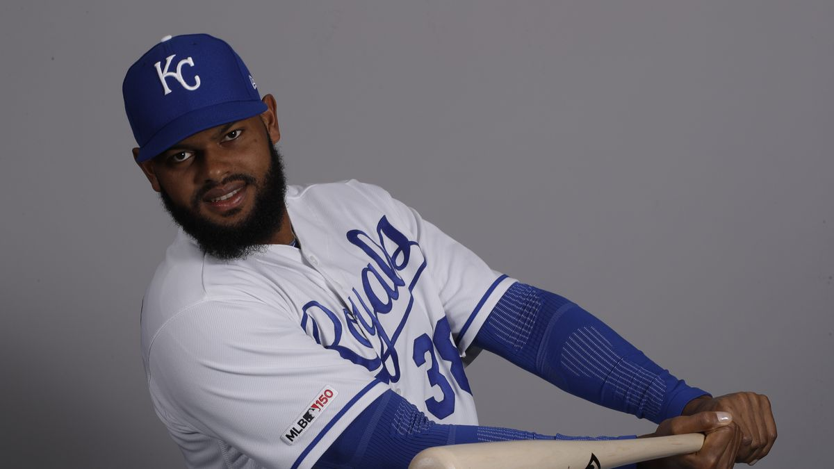 This is a 2019 photo of Jorge Bonifacio of the Kansas City Royals baseball team. This image reflects the Kansas City Royals active roster as of Thursday, Feb. 21, 2019, when this image was taken. (AP Photo/Charlie Riedel)