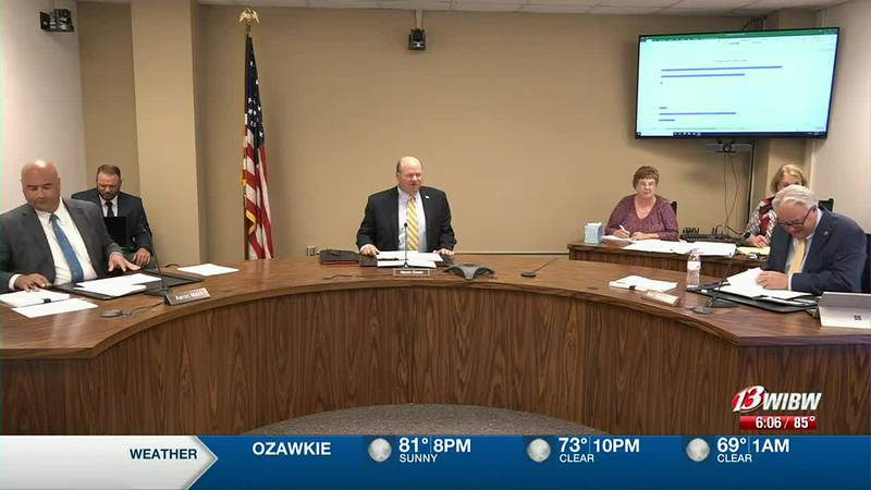 Shawnee Co Commissioners discuss capital outlay plans on Monday, July 19, 2021.