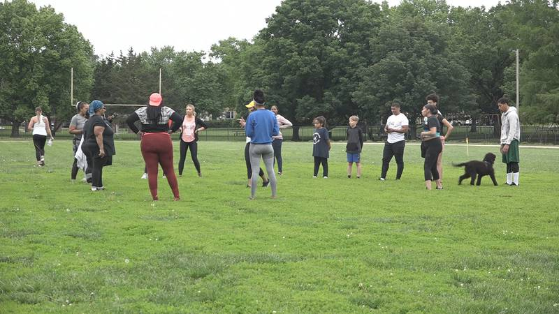 Omni Circle Group held their first MOVE outdoor boot camp during Memorial weekend!