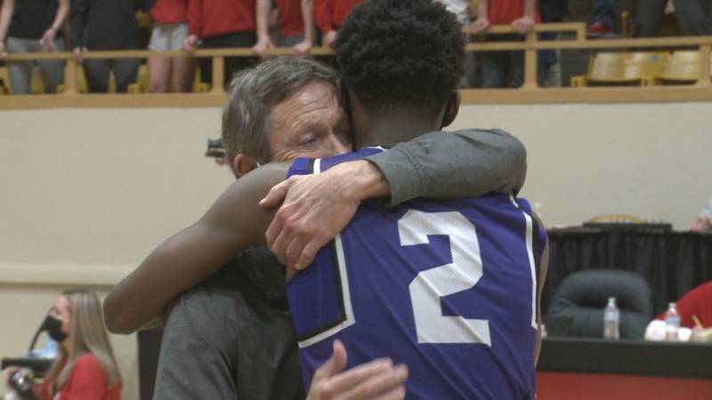Ahead of their state tournament run, Topeka West boys basketball coach Rick Bloomquist heard...