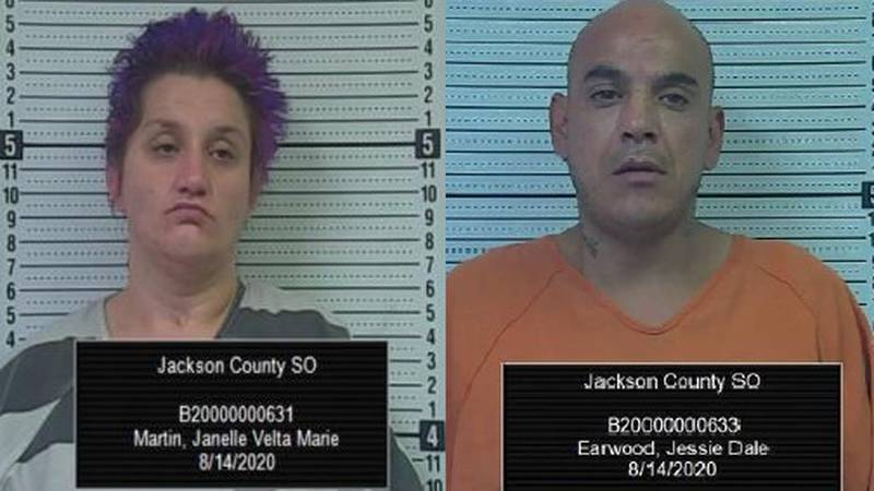 Janelle Martin and Jessie Earwood
