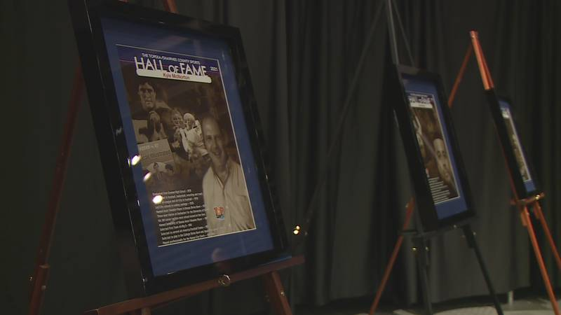 Three new names were added to the Topeka/Shawnee County Sports Hall of Fame on Wednesday, June...