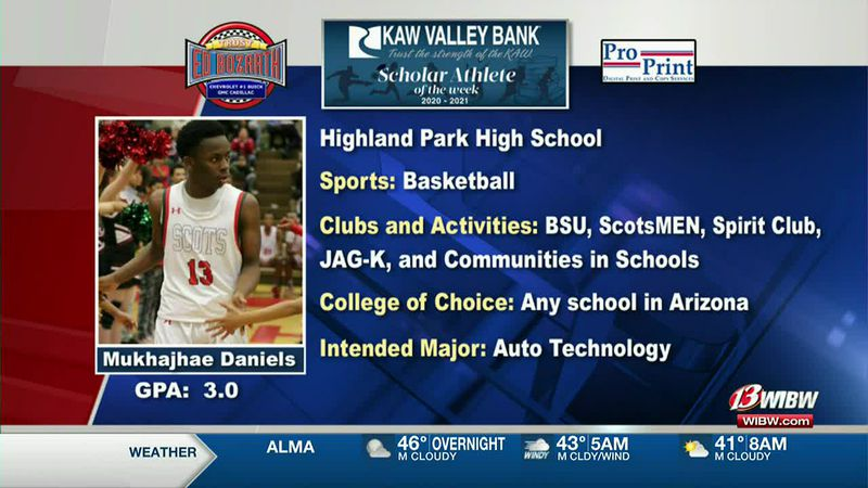 Scholar-Athlete of the Week: Highland Park's Mukhajhae Daniels