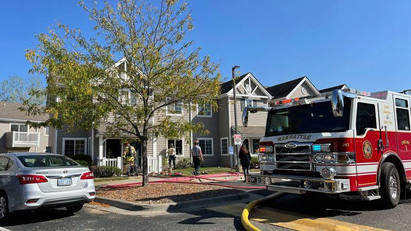 Fire crews were called to 1300 Marlatt Ave. Monday afternoon after fire breaks out inside a...