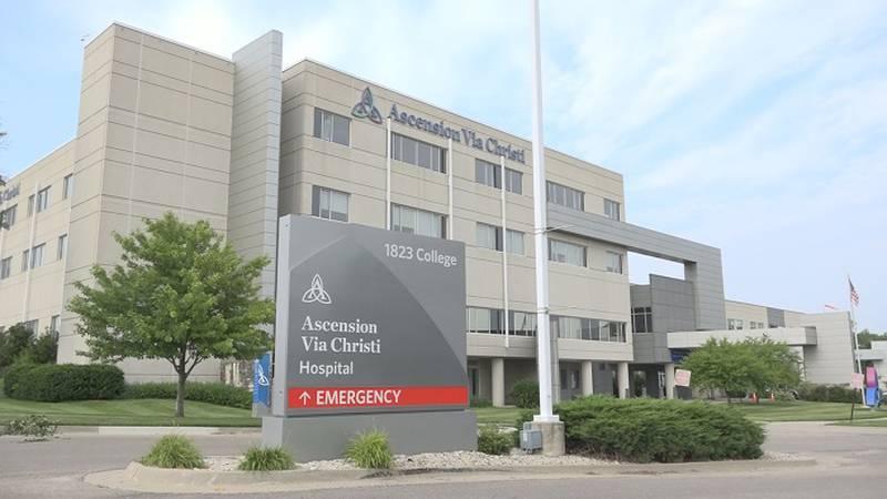 FILE - Ascension Via Christi Hospital in Manhattan