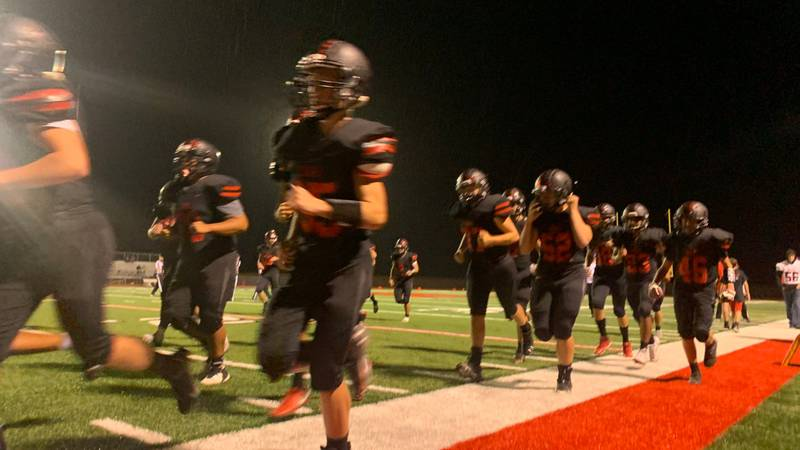 PLAY OF THE NIGHT: Jeff West's Austin Anderson kick return