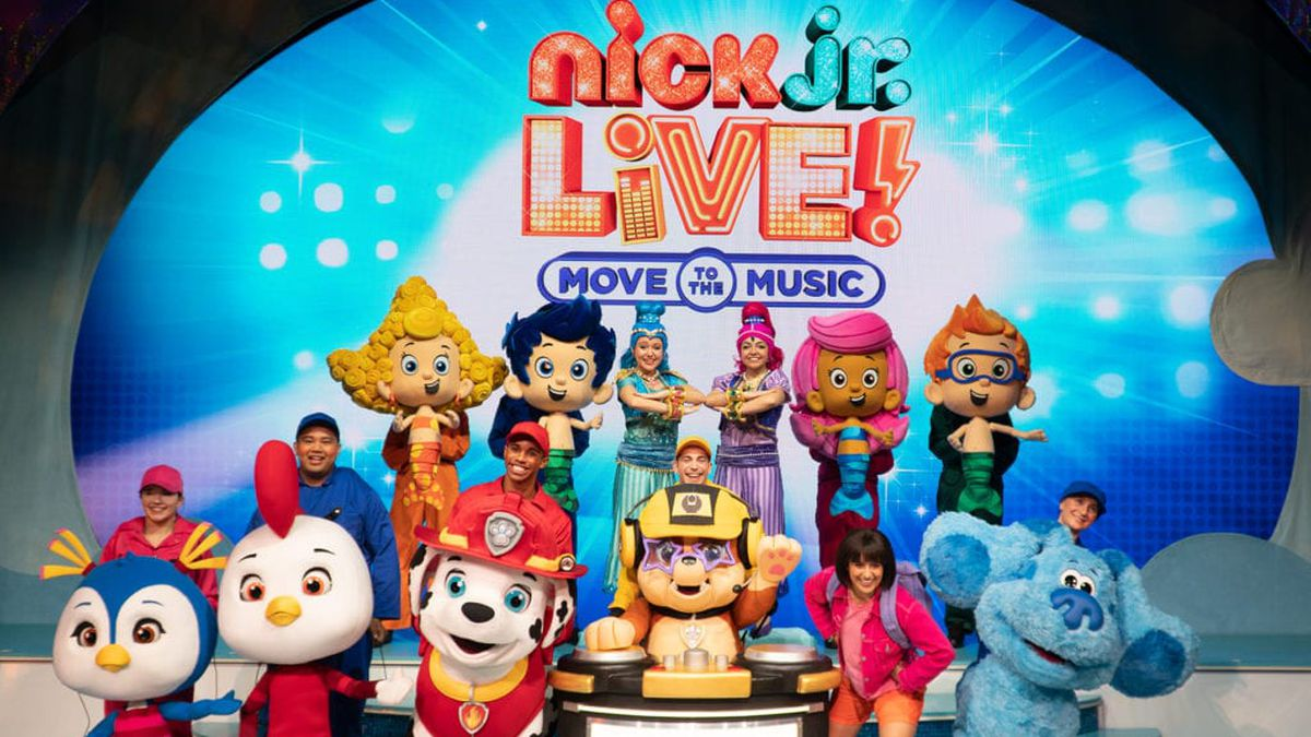 """Nick Jr. """"Move to the Music"""""""