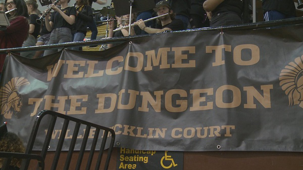 Topeka High School Basketball Court