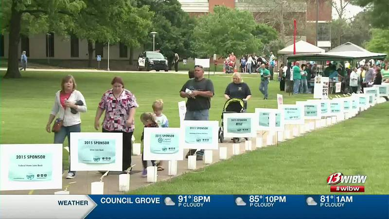 Frazier Circle will be filled with walkers, and lighted tributes next Friday.