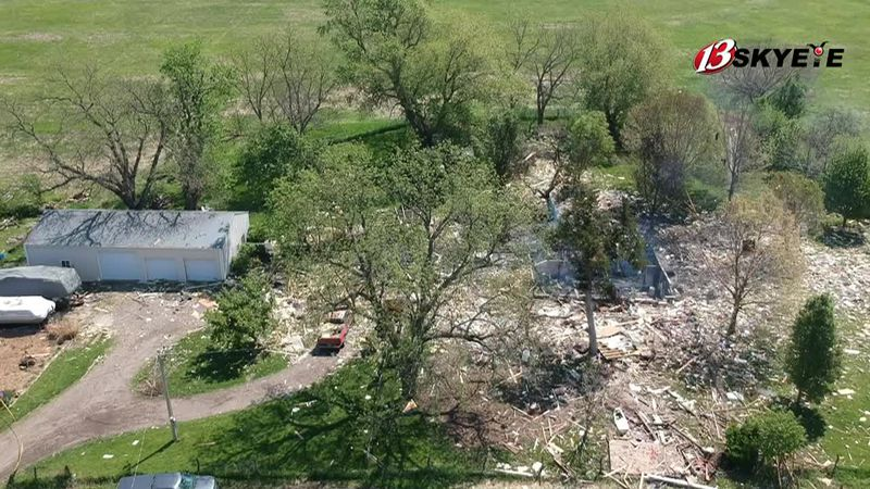 One person has died, another seriously injured after a home exploded in rural Holton May 10, 2021
